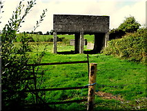 H6156 : Elevated storage tanks, Tullybyran by Kenneth  Allen