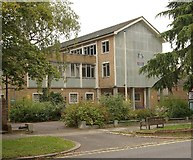 TQ2160 : Former police station, Epsom (closed 2012) by Jim Osley
