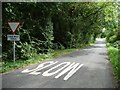 SP2010 : Slow, Give Way in 100 metres by Christine Johnstone