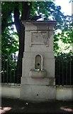 TQ2479 : Water fountain, Holland Park Avenue by N Chadwick