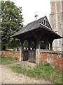 TL9836 : St.Mary's Church Lych Gate by Adrian Cable