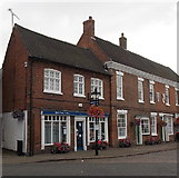 SK4003 : Solicitors' office and a building society agency in Market Bosworth by Jaggery