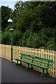TQ3838 : East Grinstead Station Platform by Peter Trimming