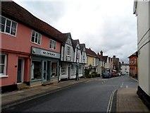 TM2649 : Theatre Street, Woodbridge by Bikeboy