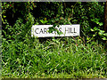TM0033 : Carters Hill sign by Geographer
