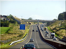 R7065 : The M7 / E20 towards junction 27 by Ian S