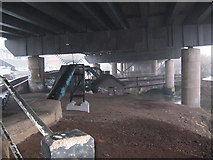 SP0990 : Unseen underside-Spaghetti Junction, Birmingham by Martin Richard Phelan