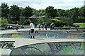 NS5766 : Kelvingrove skate park by Thomas Nugent