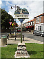 TG4010 : Acle village sign by Adrian S Pye