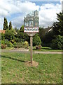 TM0434 : Stratford St.Mary Village sign by Adrian Cable