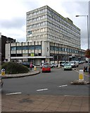 SO8376 : Crown House (1), Bull Ring, Kidderminster by P L Chadwick