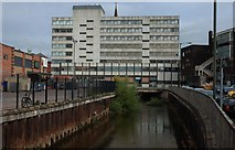 SO8376 : Crown House (3), Bull Ring, Kidderminster by P L Chadwick