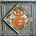 SP2429 : Hatchment, Chastleton House, Chastleton, Oxfordshire by Brian Robert Marshall