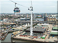 TQ4080 : Emirates Cable Car, London E1 by Christine Matthews