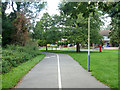 TQ0685 : Foot and cycleway, Ickenham by Robin Webster