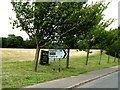 TM0434 : Roadsign on the B1029 Dedham Road by Adrian Cable