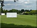 TQ3867 : Cricket field, Park Langley by Robin Webster