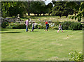 SP2556 : Charlecote Park - playing croquet by Chris Allen