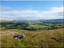 NN9901 : Looking into lower Glen Devon by Alan O'Dowd