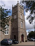 NO7095 : East Church, Banchory by Stanley Howe