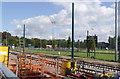 SK5437 : Tramway alongside Beeston Hockey Club by Alan Murray-Rust