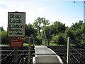 TQ5787 : Level crossing by Alex McGregor
