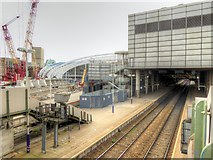 SJ8499 : Manchester Victoria Station Redevelopment August 2014 by David Dixon