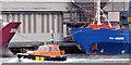 """J3576 : Pilot boat """"PB2"""", Belfast harbour (September 2014) by Albert Bridge"""