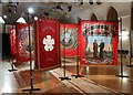 SE3406 : NUM Banners Exhibition at Barnsley Civic Theatre by Neil Theasby