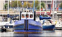 """J3475 : The """"Victoria"""", Belfast (September 2014) by Albert Bridge"""