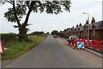 NS4927 : Tarbolton Road, Mauchline by Billy McCrorie