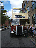 TA1028 : East Yorkshire Leyland Titan open top bus 202 YTE by JThomas