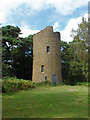 TQ0145 : The tower, Chinthurst Hill by Alan Hunt