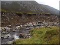 NN9194 : Erosion scar on Caochan Dubh in the Eidart system, Glenfeshie by ian shiell