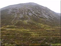 NN9193 : Leth-chreag above River Eidart, Glenfeshie by ian shiell