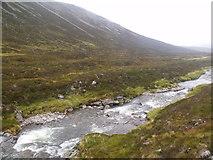 NN9193 : Freshly created - River Eidart, Glenfeshie by ian shiell
