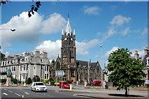 NJ9205 : Queen's Cross, Aberdeen by Bill Harrison