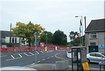 J0326 : Quarter Road, Camlough, at its junction with the A25 by Eric Jones