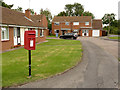 SK7982 : Habblesthorpe Road postbox ref DN22 49 by Alan Murray-Rust