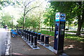 TQ2479 : Cycle hire, Holland Park by N Chadwick