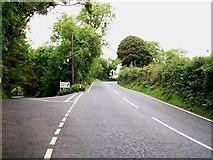 H9618 : The Drumalt junction on the Newry Road (B30) north of Silverbridge by Eric Jones