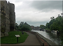 SK7954 : River Trent, Newark-on-Trent by Stephen Richards