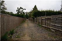 TA2904 : Path towards Humberston Avenue, New Waltham by Ian S