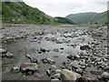 NY4711 : Crossing Mardale Beck at the head of Haweswater by Peter S