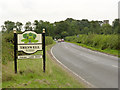 SK7879 : Treswell village entrance sign by Alan Murray-Rust