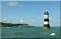 SH6481 : Trwyn Du Lighthouse by Rude Health