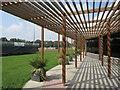 TQ7668 : Medway Park Veranda by David Anstiss