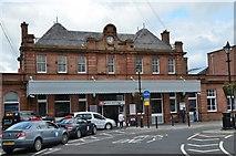 NT9953 : Berwick-upon-Tweed station by Jim Barton