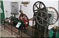 SU4924 : Twyford Pumping Station - gas engine and pump by Chris Allen