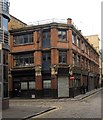 TQ3382 : Former workshop/warehouse building, Coronet Street by Julian Osley